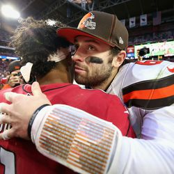 December 2019: It was a match-up of Oklahoma quarterbacks taken No. 1 overall in back-to-back drafts, and QB Kyler Murray came out on top. The story of the game was the Browns' defense having no ability to stop RB Kenyon Drake, who ran for 137 yards and 4 touchdowns in a 38-24 win that dropped Cleveland's record to 6-8, matching the number of losses they had in 2018.