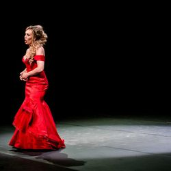 Marina Costa-Jackson performing in the final round of the Placido Domingo's Operalia.