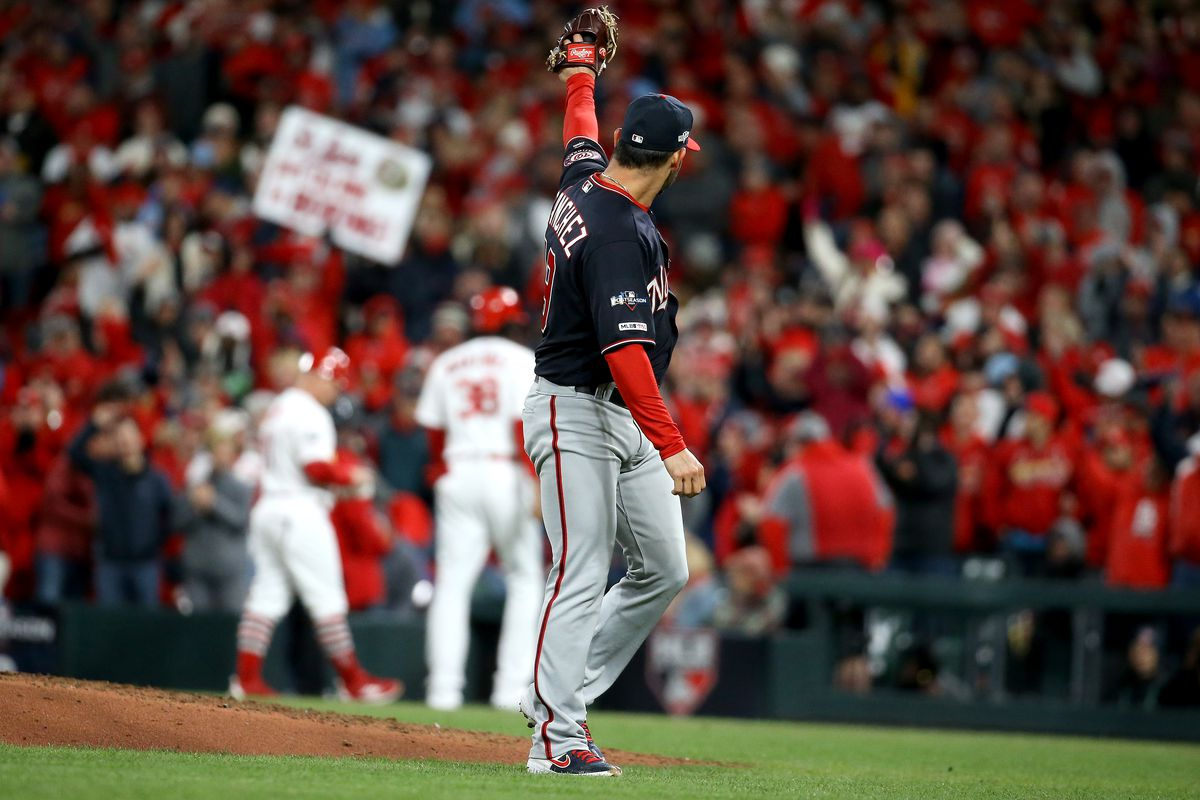 Aníbal Sánchez leads Washington Nationals to NLCS Game 1 win over St. Louis Cardinals...