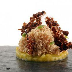 Suspended foie gras