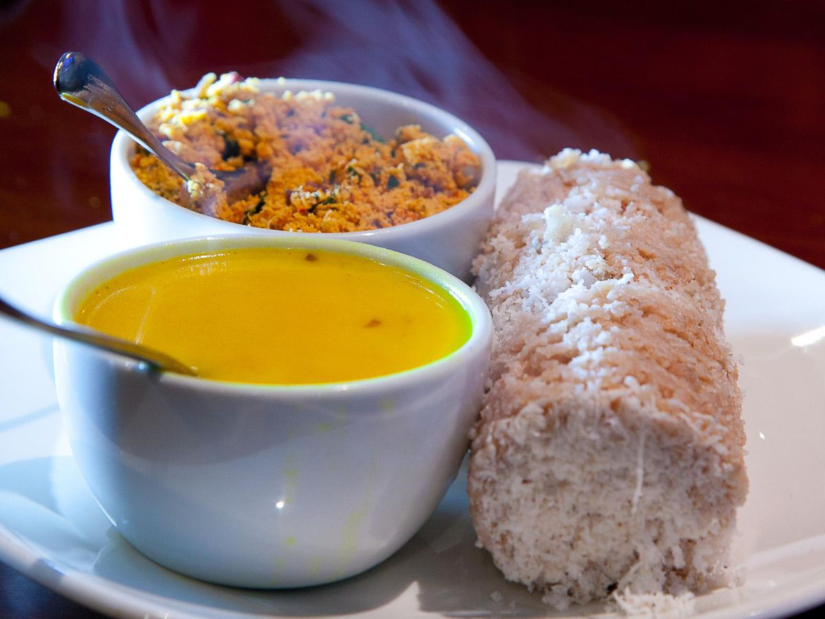 Curry at Palm Beach, Wembley, one of the best Sri Lankan restaurants in London