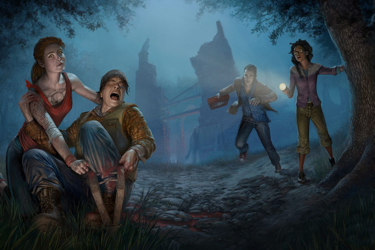 concept art for dead by daylight