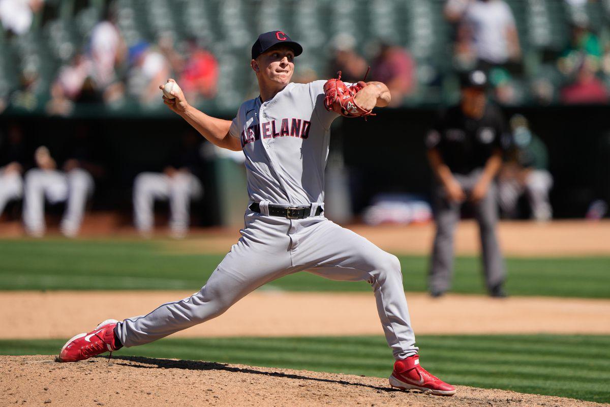 MLB: Cleveland Indians at Oakland Athletics