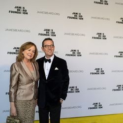 Susan Ungaro and Ted Allen