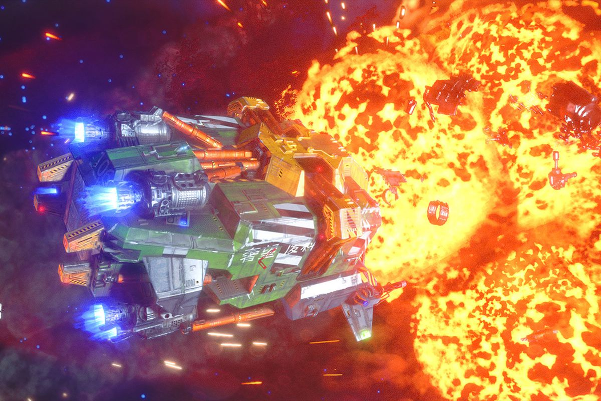 Rebel Galaxy Outlaw impressions: more than just a Wing