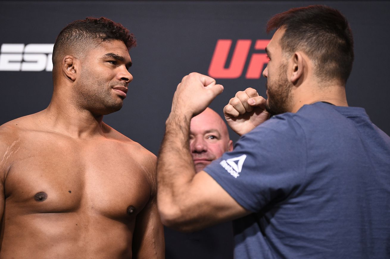 Alistair Overeem and Augusto Sakai