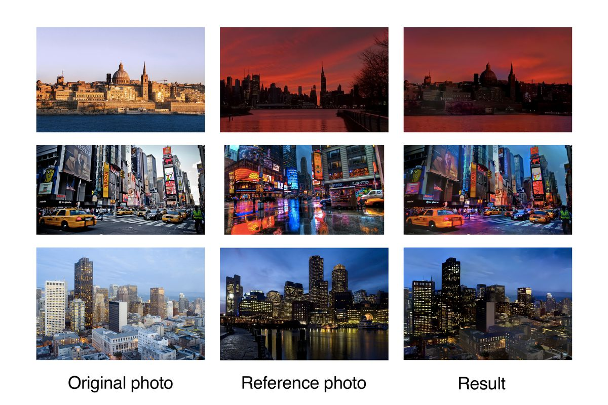 Deep neural networks can now transfer the style of one photo onto