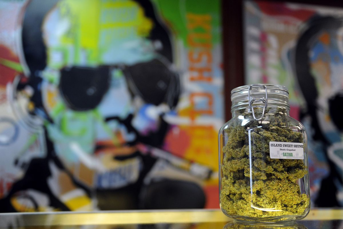 Marijuana in a Colorado dispensary.