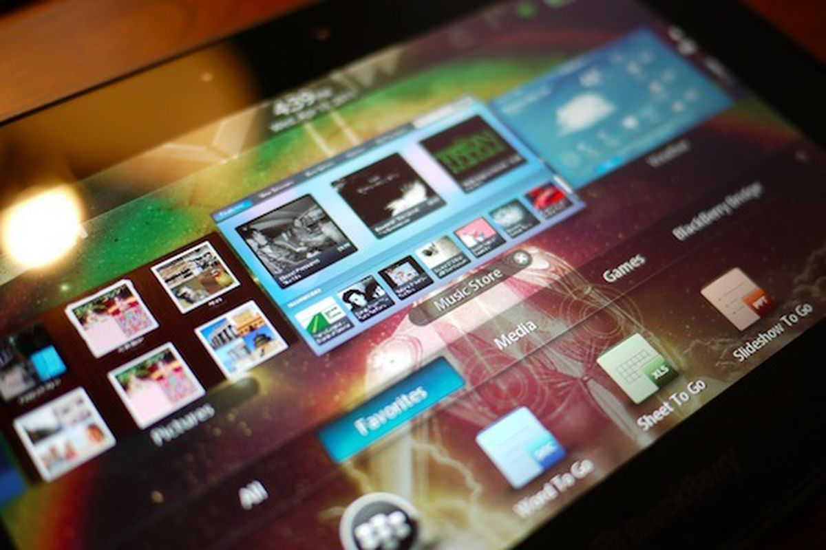 Android apps on PlayBook can use advertising services, but