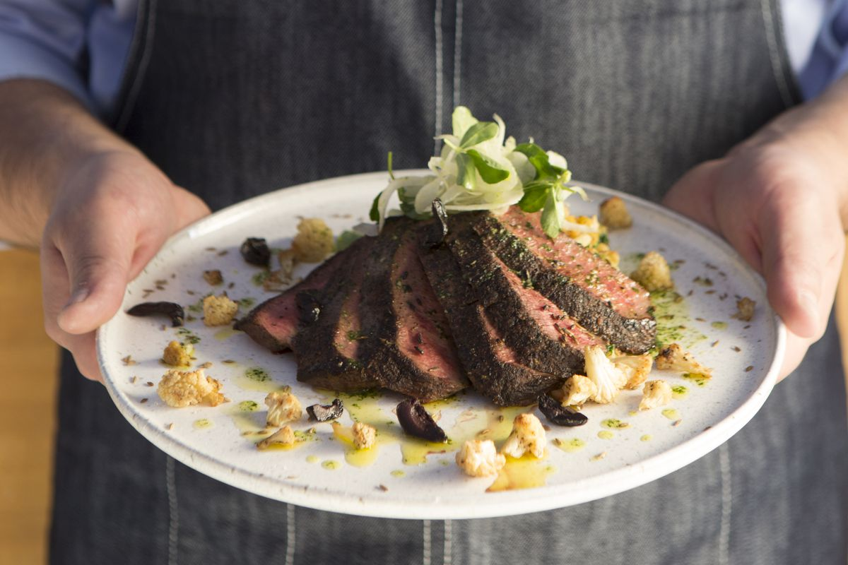 Clementine's flat iron steak
