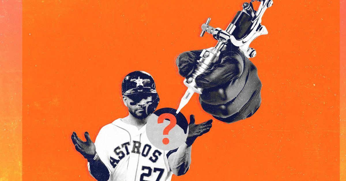 Does José Altuve's Bad Tattoo Explain His Strange ALCS Home Run Celebration?
