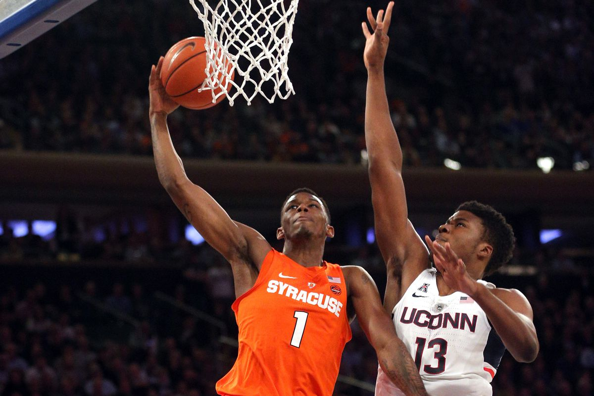 syracuse vs uconn mens basketball - photo#5