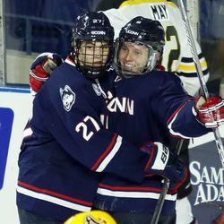 UConn Men's Hockey @ AIC Yellow Jackets