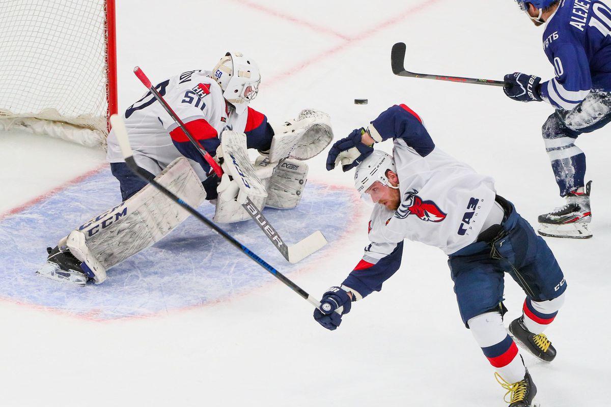 Kontinental Hockey League: Dynamo Moscow vs Torpedo Nizhny Novgorod