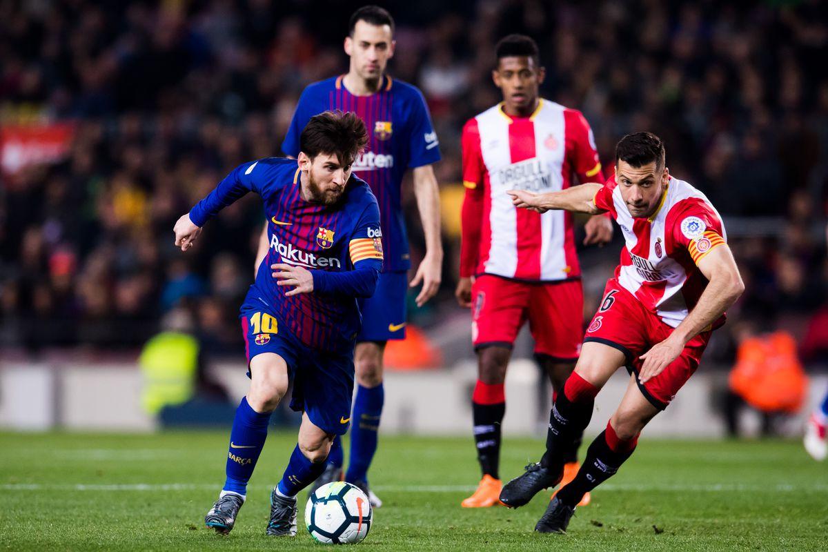 Fc Barcelona News 25 February 2018 Barca Dominate Girona Set New