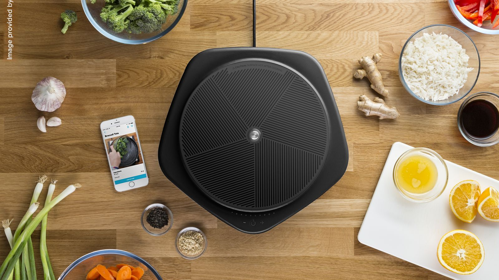 BuzzFeed Made a Smart Hot Plate that Syncs with its Viral Cooking Videos