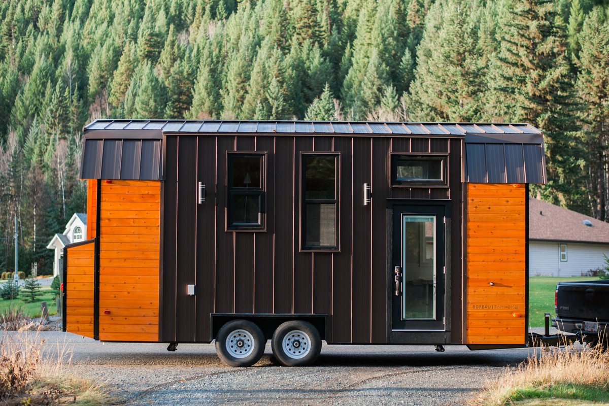 This rad tiny house was made for colder climates - Curbed