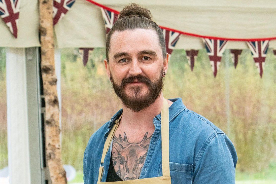 Dan, a contestant on Great British Bake Off 2019