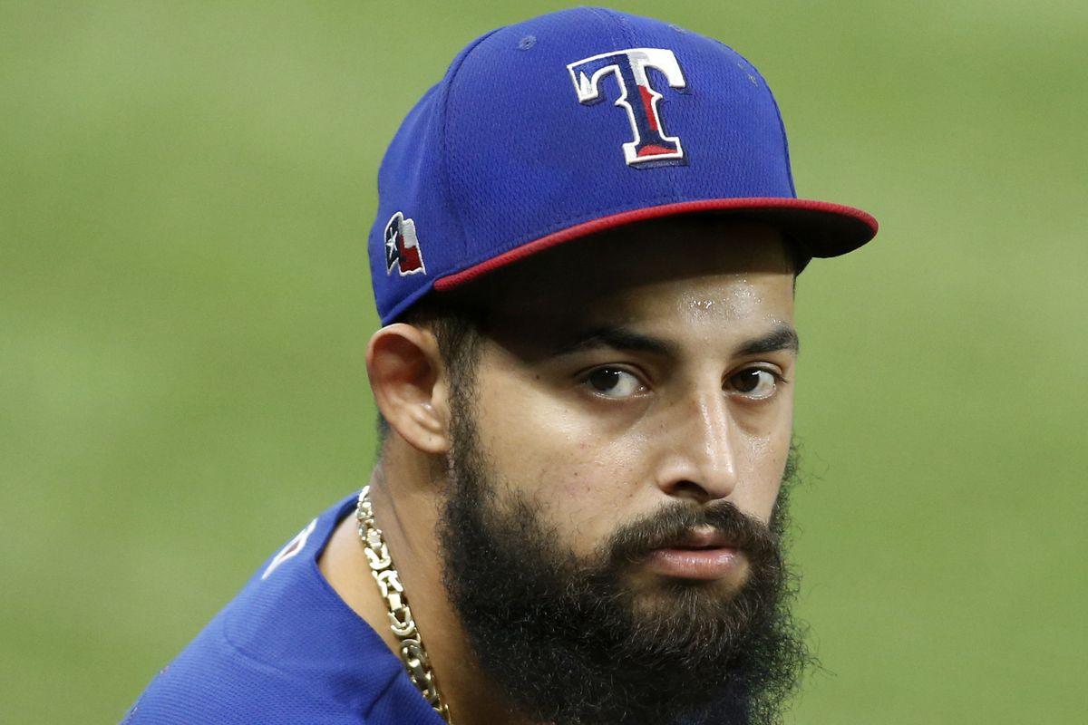 MLB: Texas Rangers-Workouts