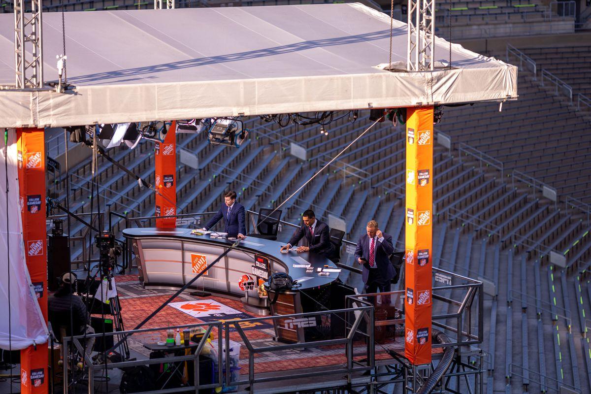 NCAA Football: ESPN Gameday-Clemson vs Notre Dame