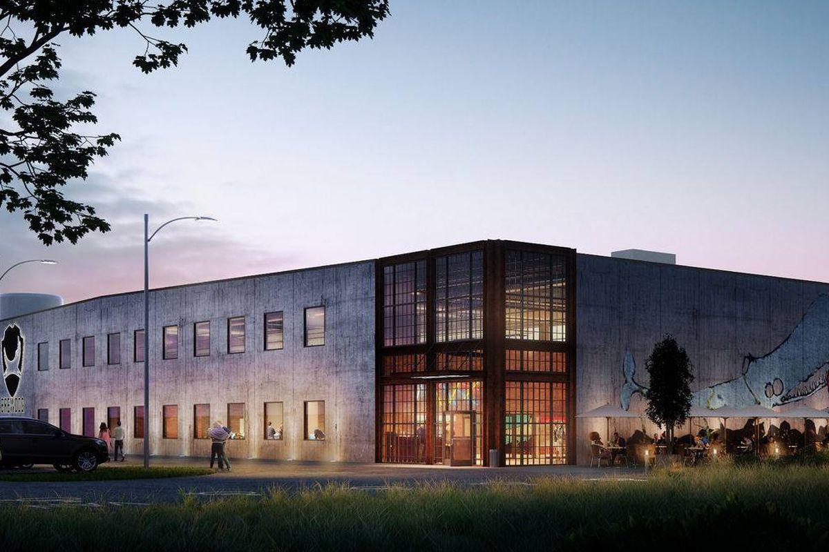 BrewDog's future Columbus brewery