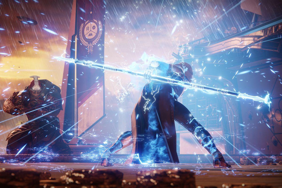 The new Arcstrider Hunter in Destiny 2. Bungie/Activision