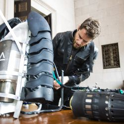 Richard Browning invented  the Gravity Industries Jet Suit. | James Foster/For the Sun-Times
