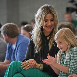 Lee Anne Pope, the coach's wife, is no novice in the basketball world. Her father is the late Lynn Archibald, the former Utah head coach and BYU assistant, and her brothers have been college coaches.