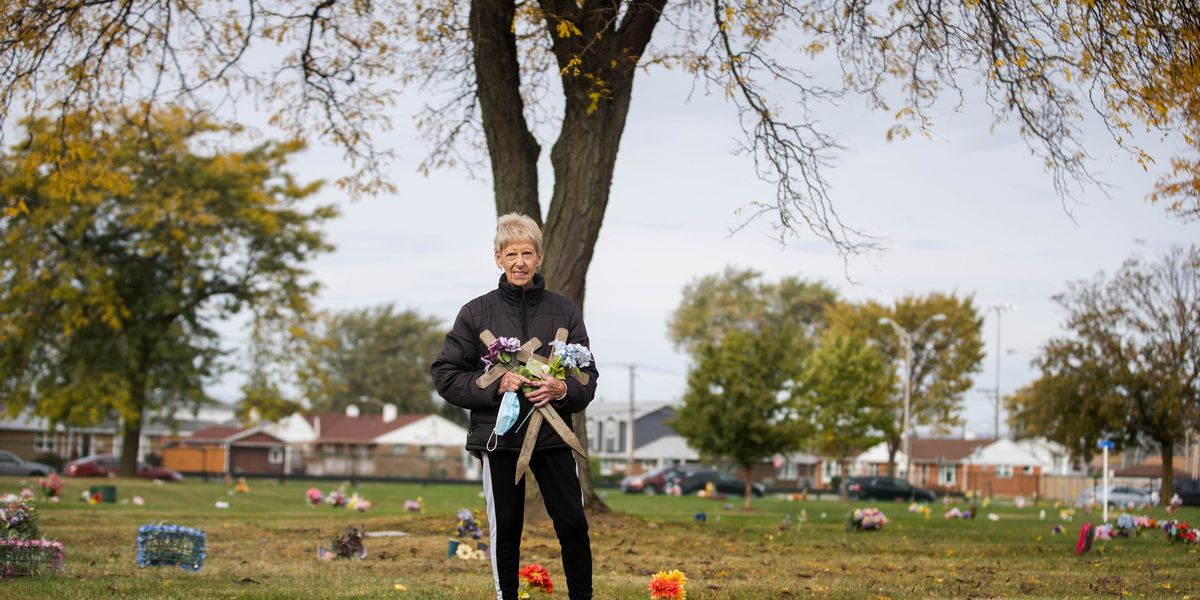 A faithful caretaker of the 'faithful departed,' Plainfield woman's acts show she will never forget them