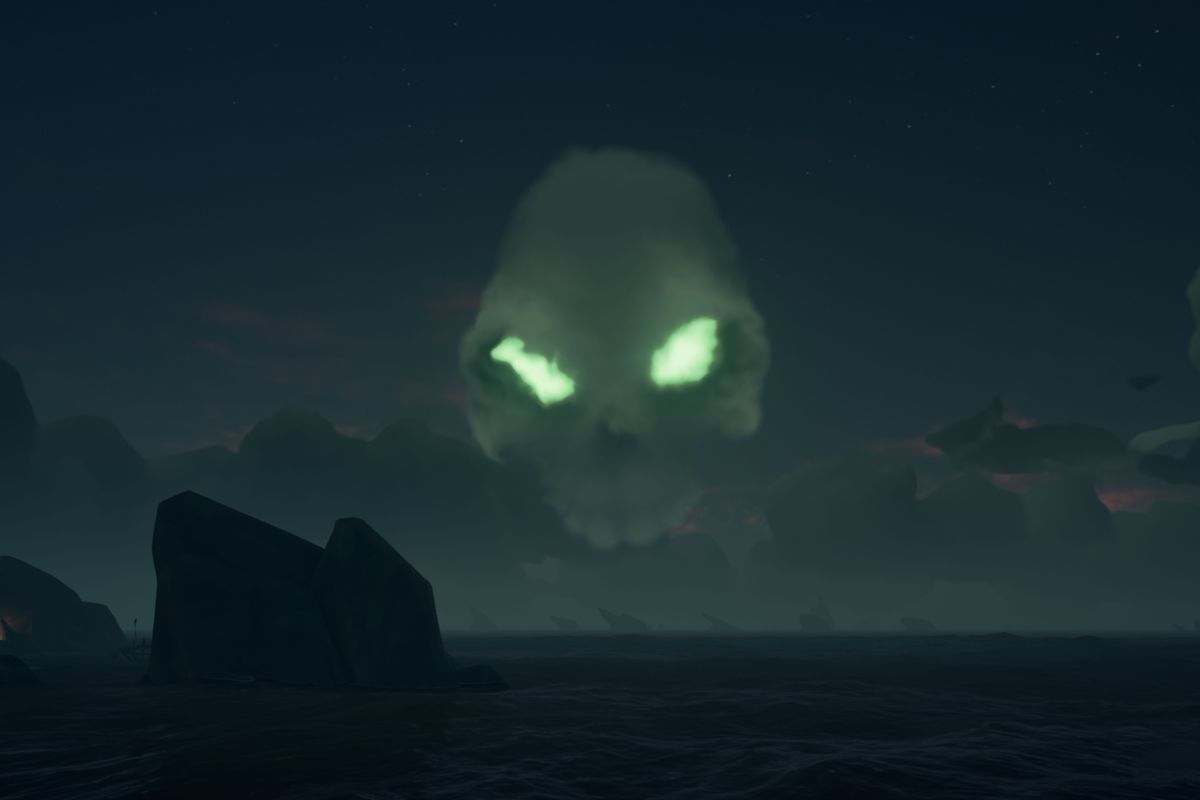 Sea Of Thieves Guide Skull Clouds And Skeleton Forts Polygon