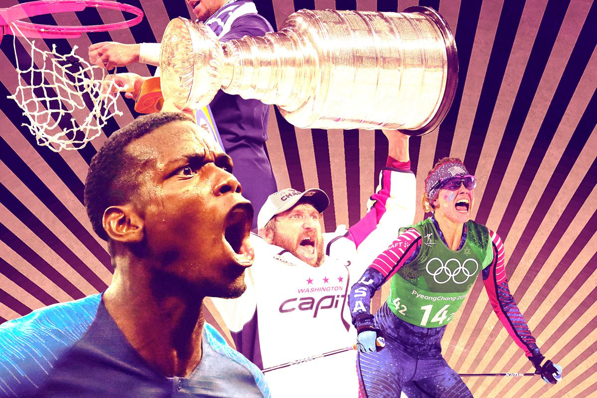 Paul Pogba, Alexander Ovechkin, and Jessie Diggins