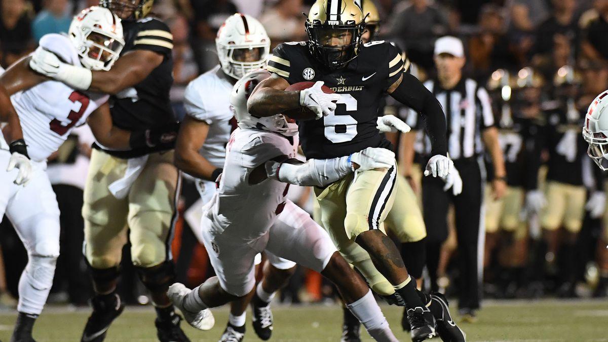 NCAA Football: Stanford at Vanderbilt
