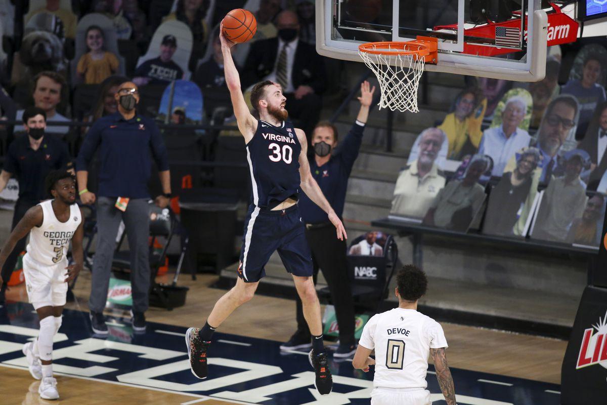 NCAA Basketball: Virginia at Georgia Tech
