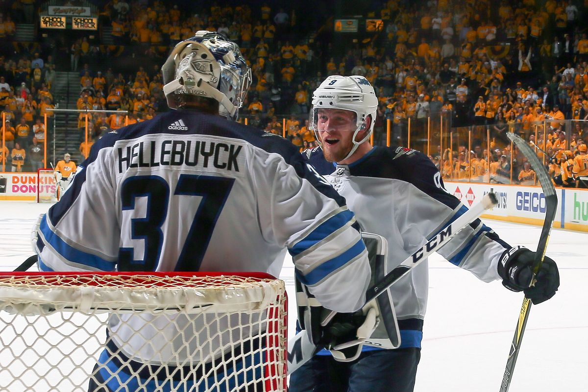 d8fde2be5 Photo by Frederick Breedon Getty Images. The Winnipeg Jets are in the  Western Conference Final and playing the Vegas Golden Knights.