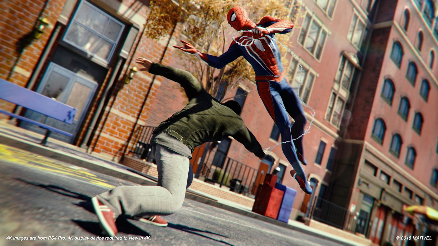 The first hour of Spider-Man on the PS4 strains against the
