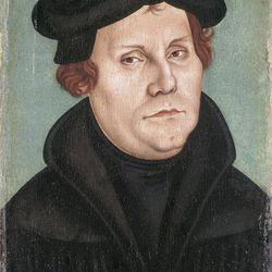 Lucas Cranach the Elder; Martin Luther and Katharina von Bora, 1528