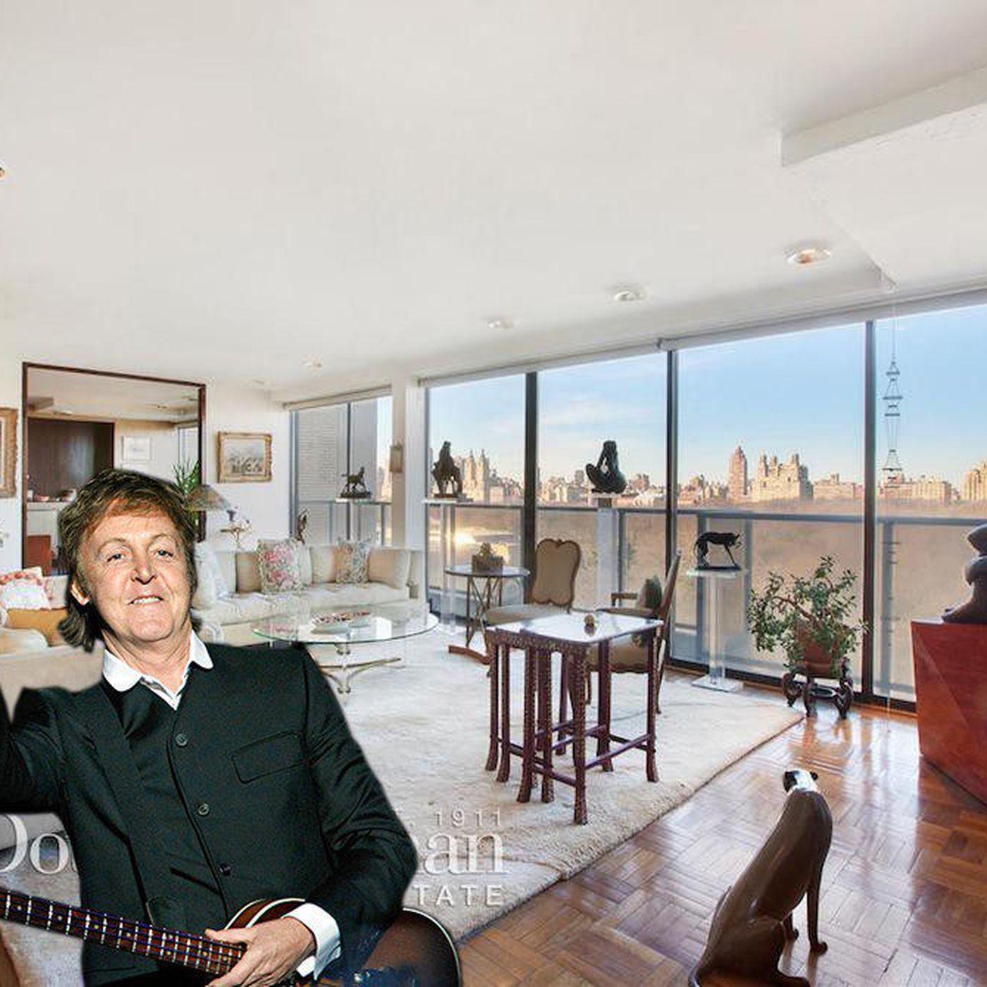 Flat In New York: Paul Mccartney New York Apartment