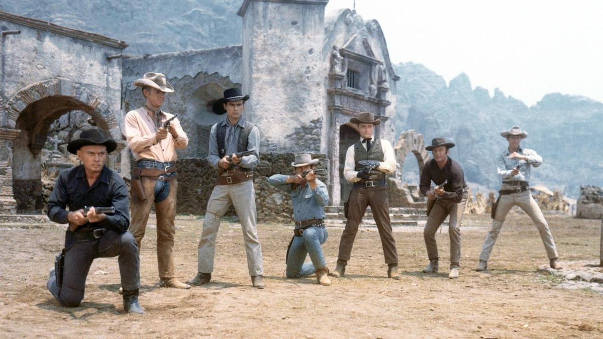 Still from John Sturges' The Magnificent Seven