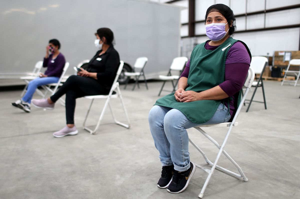 Agriculture Workers In California Receive COVID-19 Vaccination