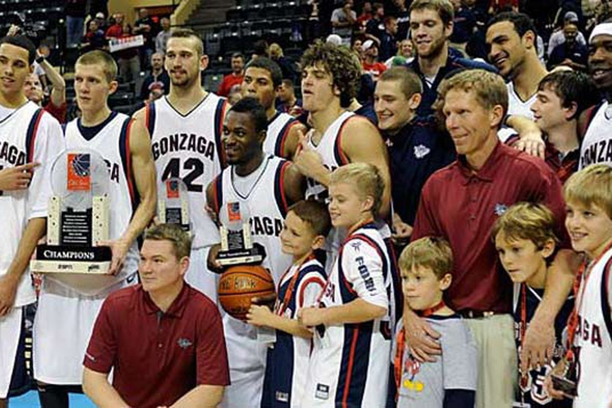 The Zags celebrated Thanksgiving with a rather dominant run through the Old Spice Classic preseason tournament.