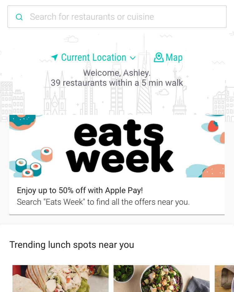 Meal-ordering app Ritual exposes government employees