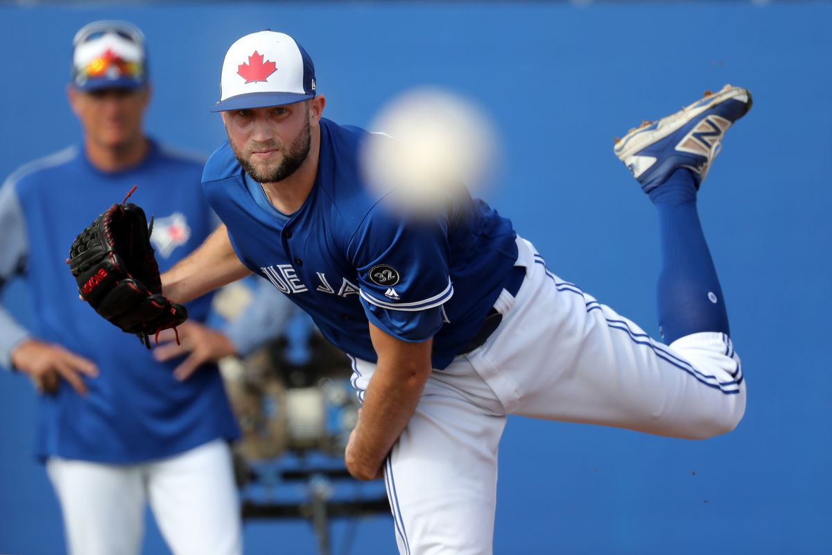 MLB: Toronto Blue Jays-Workout