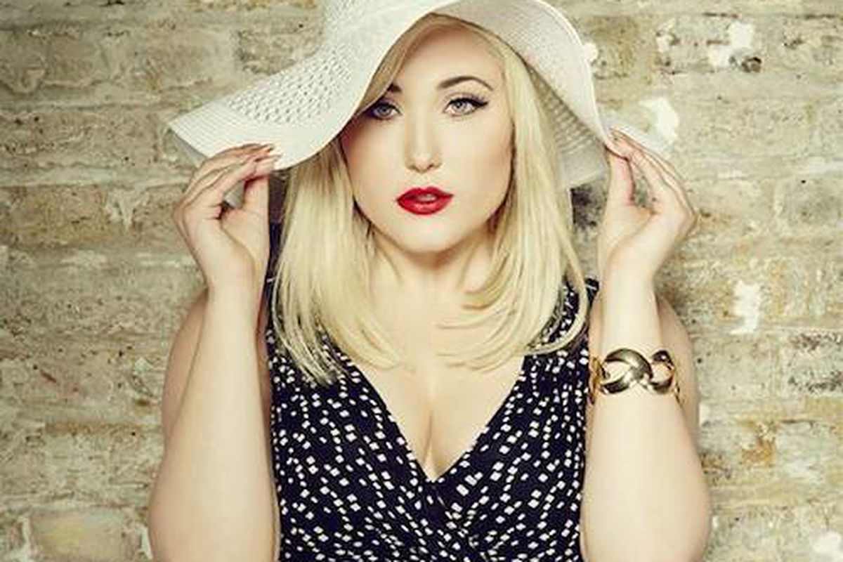"""Image <a href=""""http://www.today.com/style/hayley-hasselhoff-rocks-adorable-new-plus-size-clothing-line-1D79827874"""">via</a>"""