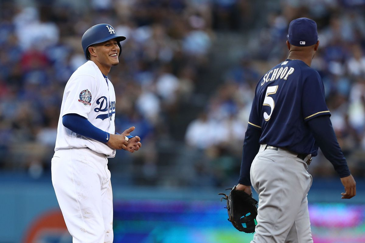 Milwaukee Brewers v Los Angeles Dodgers