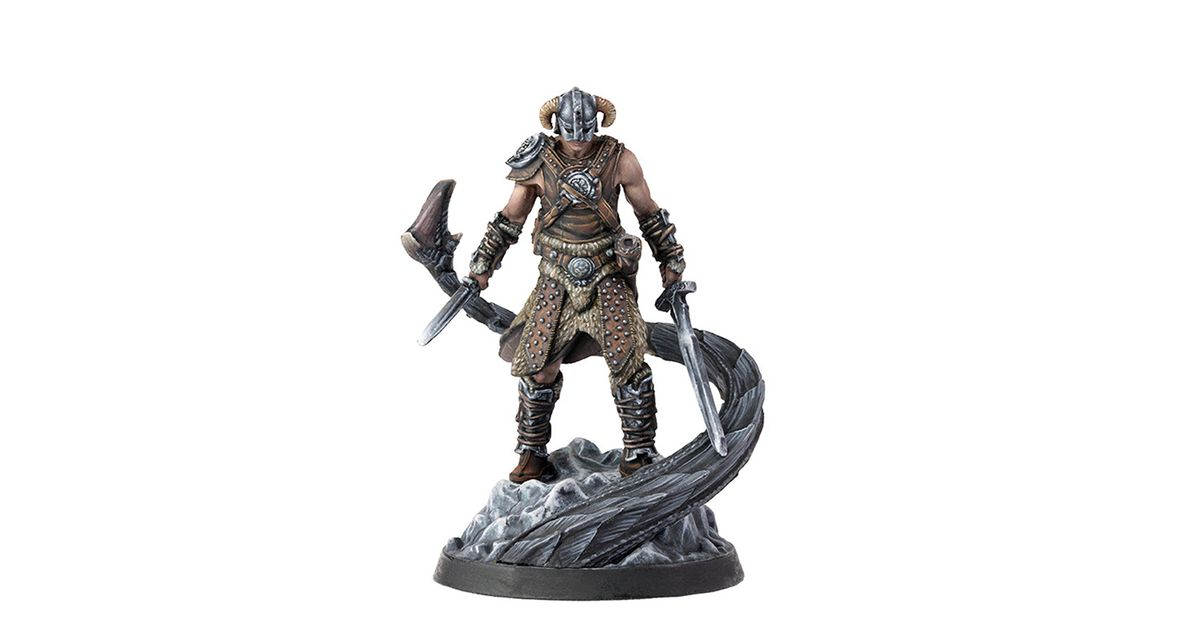 Elder Scrolls miniatures game is on the way, first wave set in Skyrim