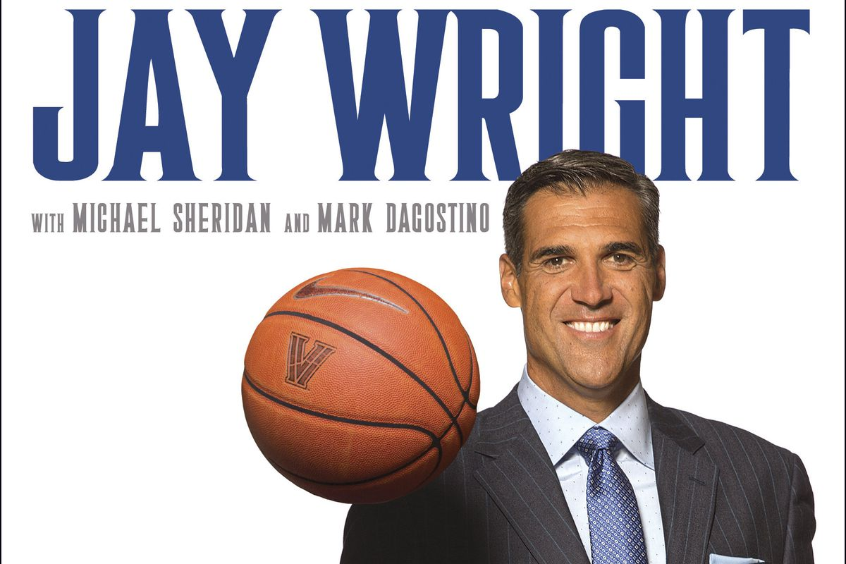 The cover of Jay Wright's book, Attitude.