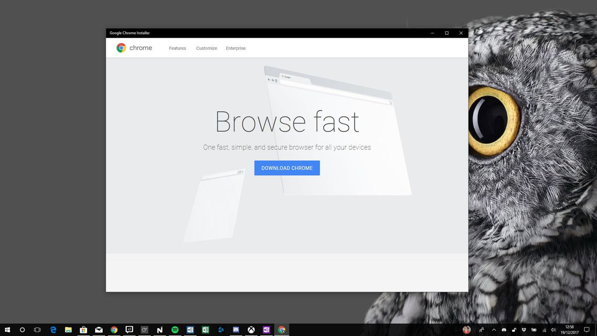 Microsoft removes Google's Chrome installer from the Windows