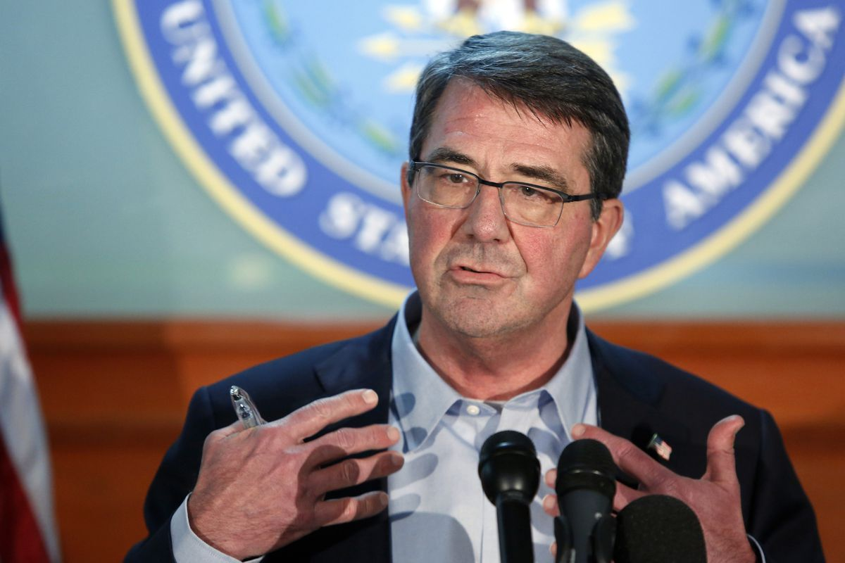 The new defense secretary, Ash Carter.