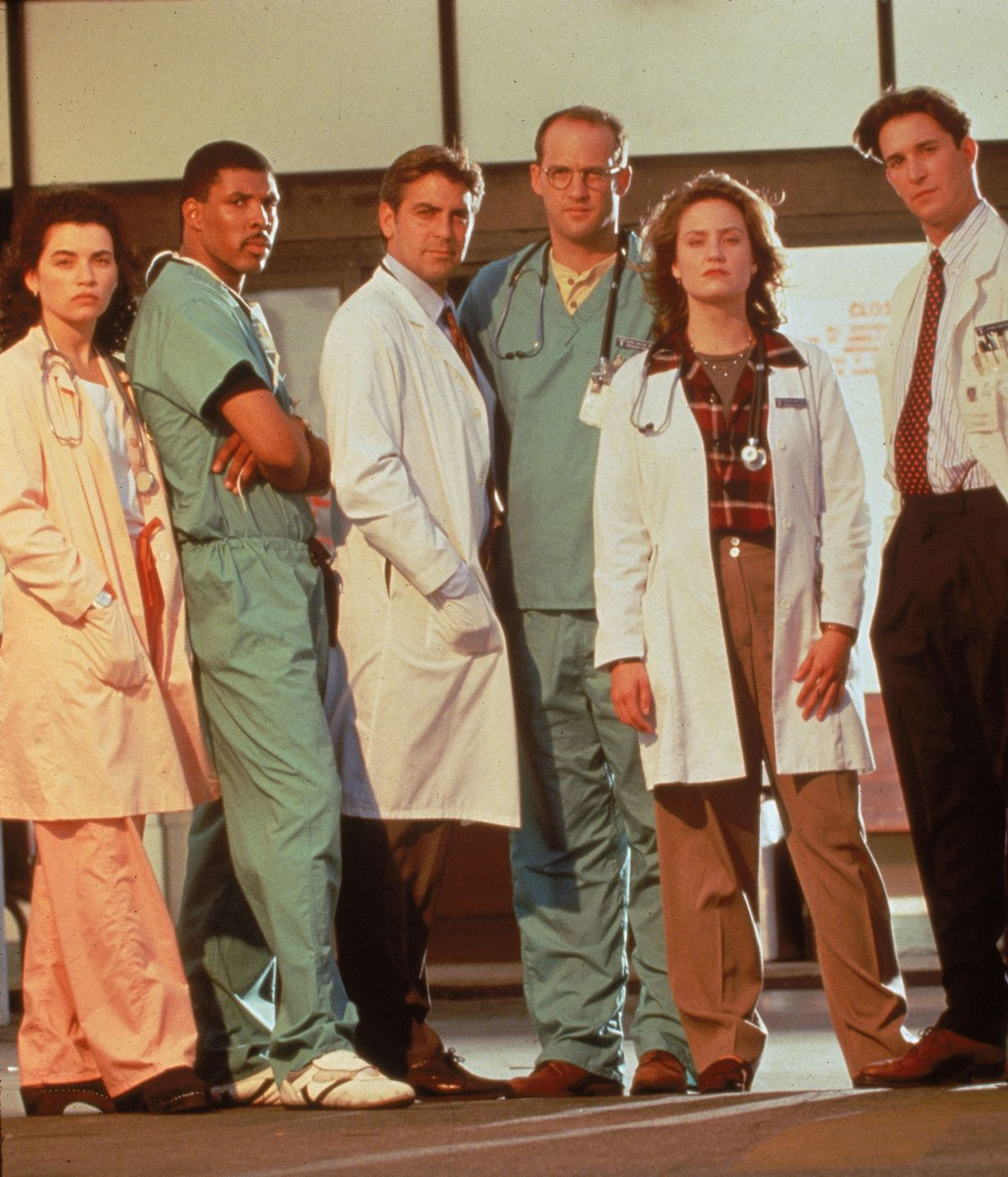 The cast of 'ER' (GettyImages)
