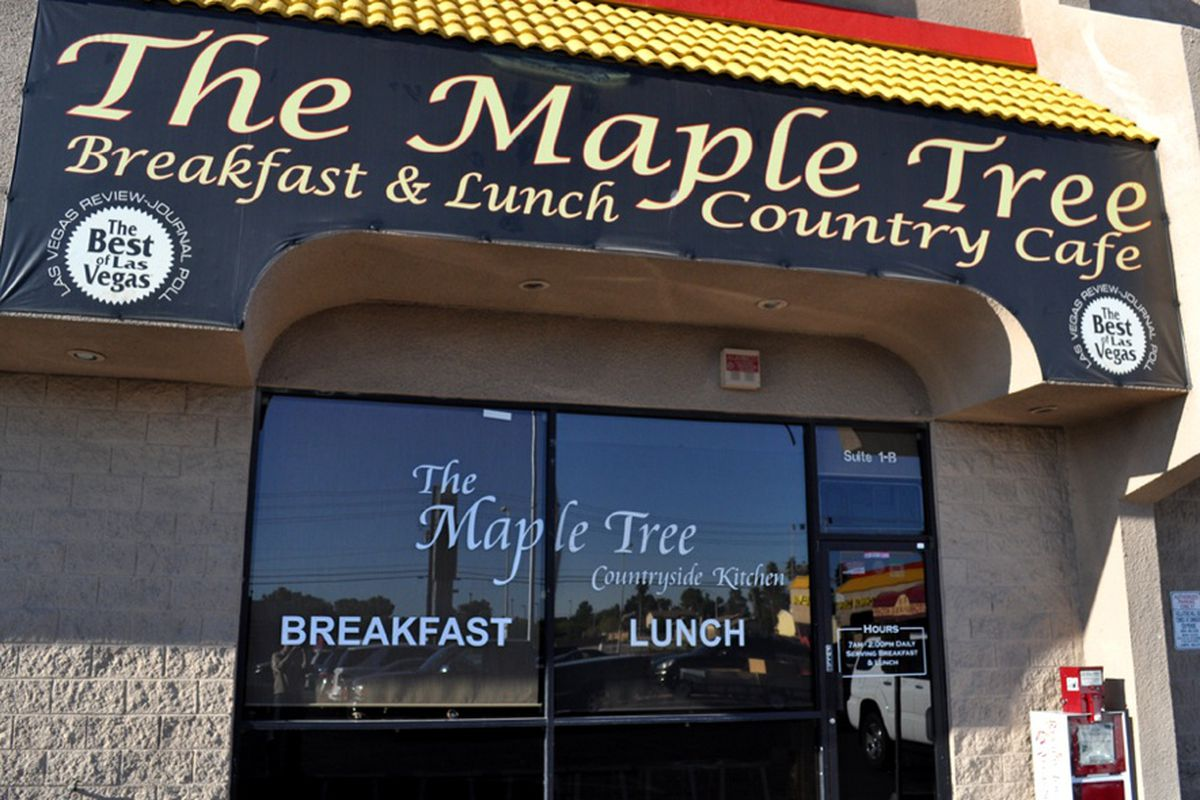 Maple Tree Cafe S Image Changes Tonight Eater Vegas